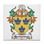 Montgomery Coat of Arms Tile Coaster