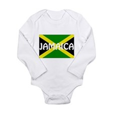 Jamaica Long Sleeve Infant Bodysuit