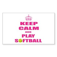 Girls Softball Decal