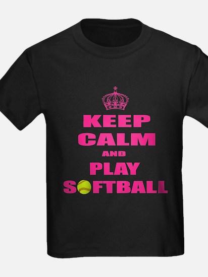 Girls Softball T