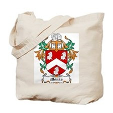 Monks Coat of Arms Tote Bag