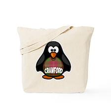 Crawford Tartan Penguin Tote Bag