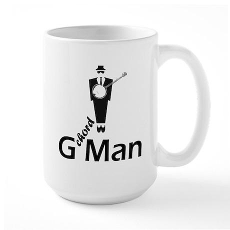 G Chord Man Large Mug