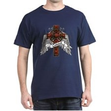 Connel Tartan Cross T-Shirt