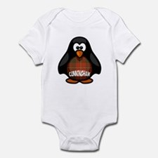 Cunningham Tartan Penguin Infant Bodysuit