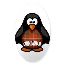 Cunningham Tartan Penguin Decal