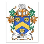 Mitchell Coat of Arms Small Poster
