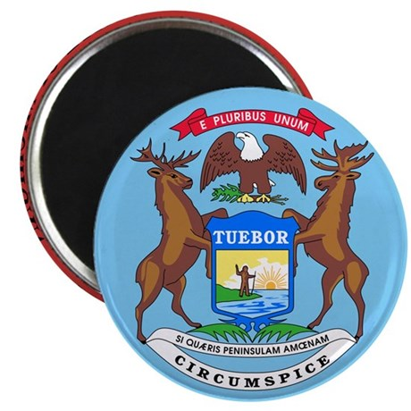 "Michigan State Seal 2.25"" Magnet (10 pack)"