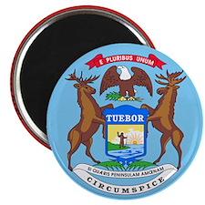 Michigan State Seal Magnet