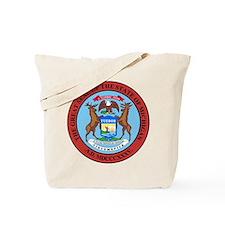 Michigan State Seal Tote Bag