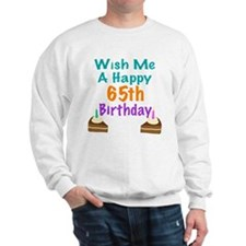 Wish me a happy 65th Birthday Sweater