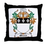 Misset Coat of Arms Throw Pillow