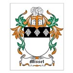 Misset Coat of Arms Small Poster