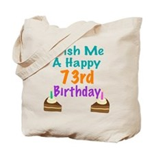 Wish me a happy 73rd Birthday Tote Bag