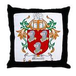 Minnitt Coat of Arms Throw Pillow