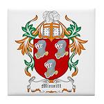Minnitt Coat of Arms Tile Coaster