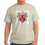 Minnitt Coat of Arms Ash Grey T-Shirt
