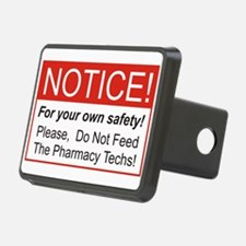 Notice / Pharmacy Hitch Cover