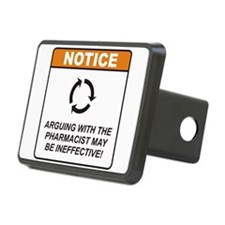 Pharmacist / Argue Hitch Cover