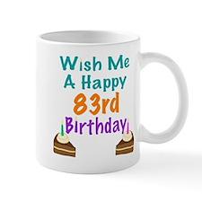 Wish me a happy 83rd Birthday Mug