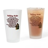 Bulldog Pint Glasses