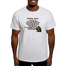 Bulldog Rules red T-Shirt