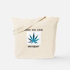 Smoke Green Tote Bag