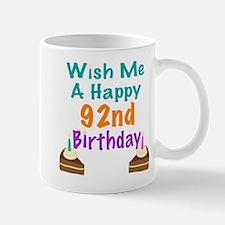 Wish me a happy 92nd Birthday Mug