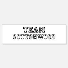 Team Cottonwood Bumper Bumper Bumper Sticker