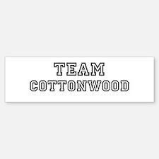 Team Cottonwood Bumper Bumper Stickers