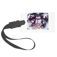 A Snowy Concert With My Two Stars Luggage Tag