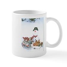 Snowmen Love Snacks. Mug