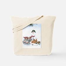 Snowmen Love Snacks. Tote Bag