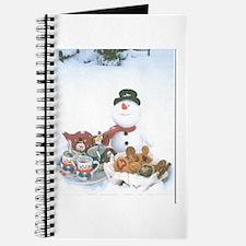 Snowmen Love Snacks. Journal