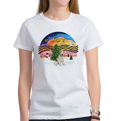 XMusic2-Wire Fox T4 Women's T-Shirt