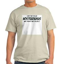 Nostradamus Ash Grey T-Shirt