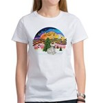 XMusic 2 - French Bulldog (fawn) Women's T-Shirt