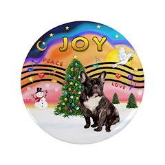 "XMusic2-FrenchBulldog-br 3.5"" Button (100 pac"