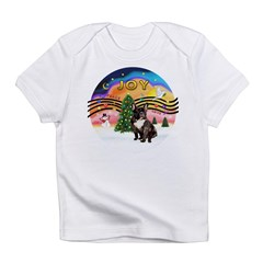 XMusic2-FrenchBulldog-br Infant T-Shirt