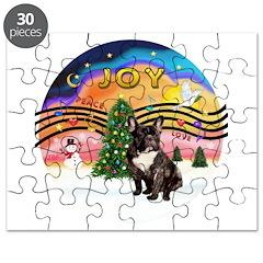 XMusic2-FrenchBulldog-br Puzzle