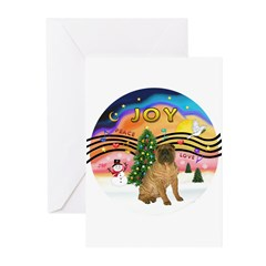 XMusic2-SharPei (J) Greeting Cards (Pk of 10)
