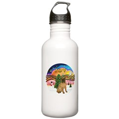 XMusic2-SharPei (J) Water Bottle