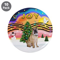"XMusic2-Chinese Shar Pei (#5) 3.5"" Button (10"