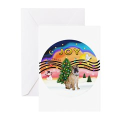 XMusic2-Chinese Shar Pei (#5) Greeting Cards (Pk o