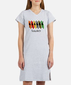 kayaker Dan.PNG Women's Nightshirt