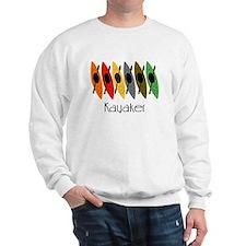 kayaker Dan.PNG Sweatshirt