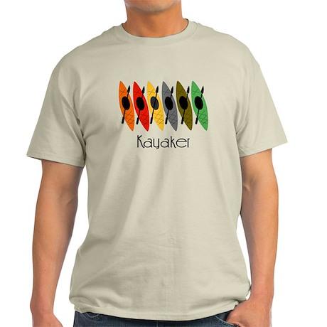 kayaker Dan.PNG Light T-Shirt