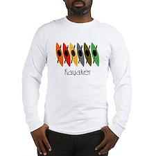 kayaker Dan.PNG Long Sleeve T-Shirt