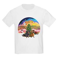 XMusic2-Two Dachshunds T-Shirt