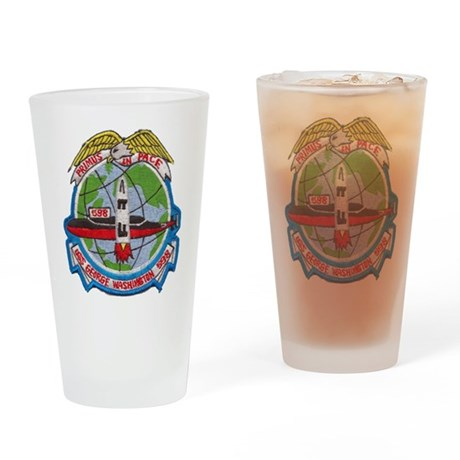 USS GEORGE WASHINGTON Drinking Glass